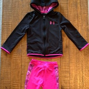 Girls 4T under armour outfit